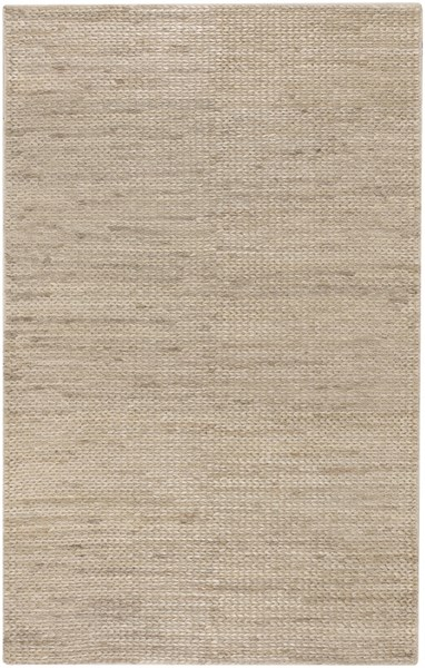 Tropics Contemporary Beige Fabric Rectangle Area Rug TRO1009-58