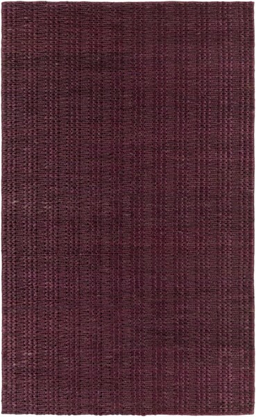 Tropics Contemporary Burgundy Fabric Rectangle Area Rug TRO1027-58