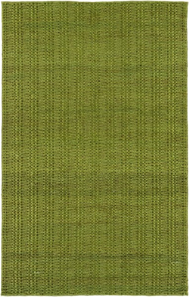 Tropics Contemporary Lime Fabric Hand Woven Area Rug TRO1029-58