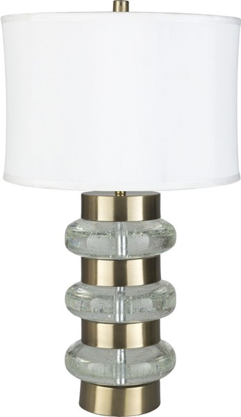 Surya Trypp White Bubble Glass Table Lamp - 15x26 TRP-001