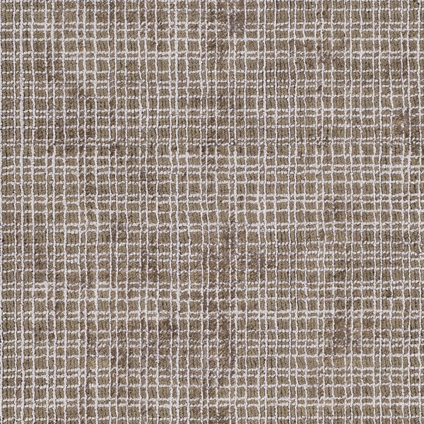 Surya Tatyana Dark Brown Light Gray Art Silk Jute Sample Area Rug - 18x18 TTA1001-1616