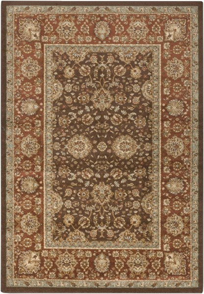 Tatil Chocolate Beige Gold Polypropylene Area Rug - 62 x 90 TTL1020-5276