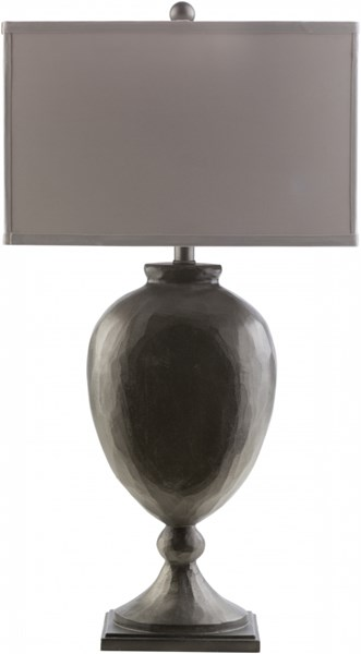 Trotter Contemporary Galvany Resin Fabric Table Lamps 13944-VAR1