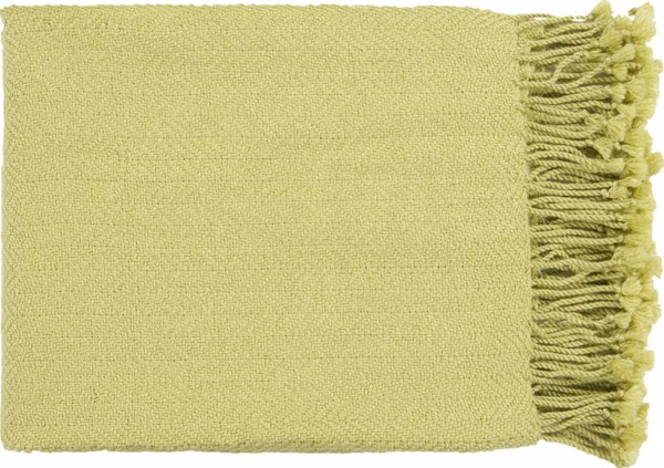 Turner Traditional Lime Acrylic Rectangle Throws TUR8401-5060