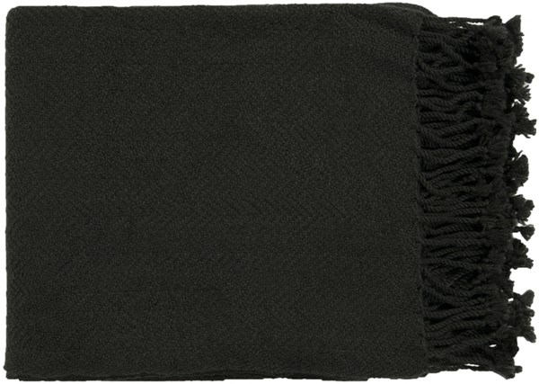 Turner Traditional Black Acrylic Rectangle Throws TUR8404-5060