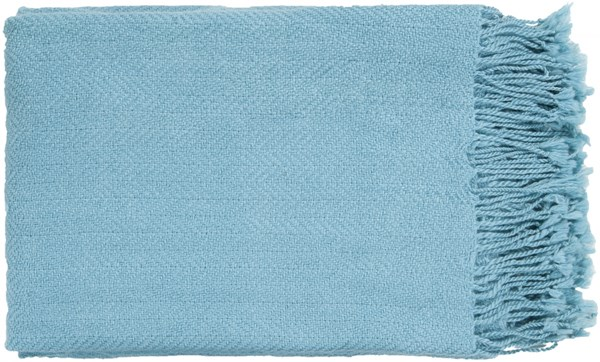 Turner Traditional Sky Blue Acrylic Throws TUR8406-5060