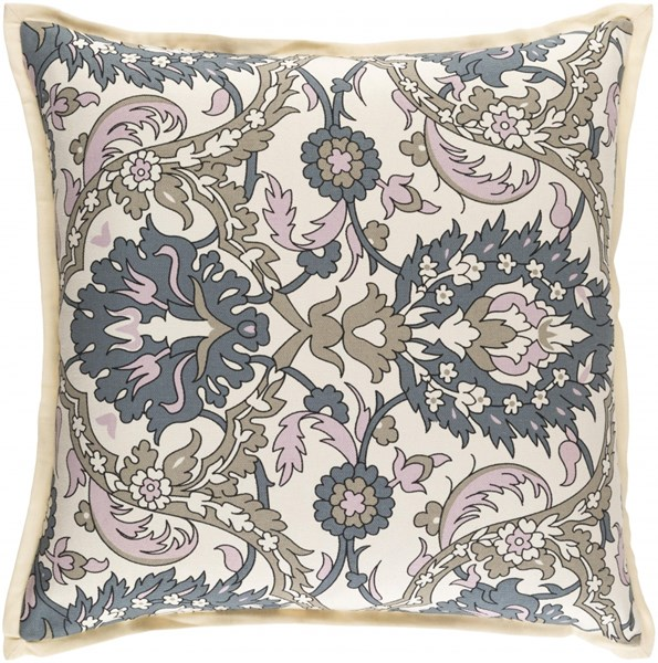 Vincent Olive Moss Ivory Down Linen Cotton Throw Pillow - 22x22x5 VCT003-2222D