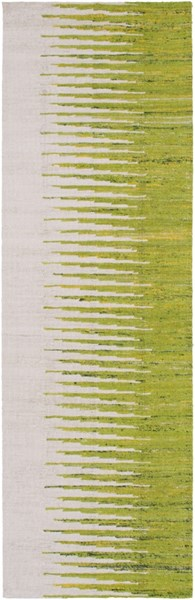 Vibe Modern Ivory Lime Lemon Fabric Runners 1978-VAR1
