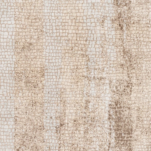 Surya Venezia Camel Dark Brown Beige Polyester Polypropylene Sample Area Rug - 18x18 VNZ2312-1616