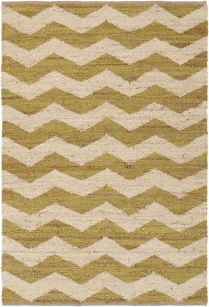 Wade Contemporary Moss Beige Fabric Hand Woven Area Rug WAD4006-576