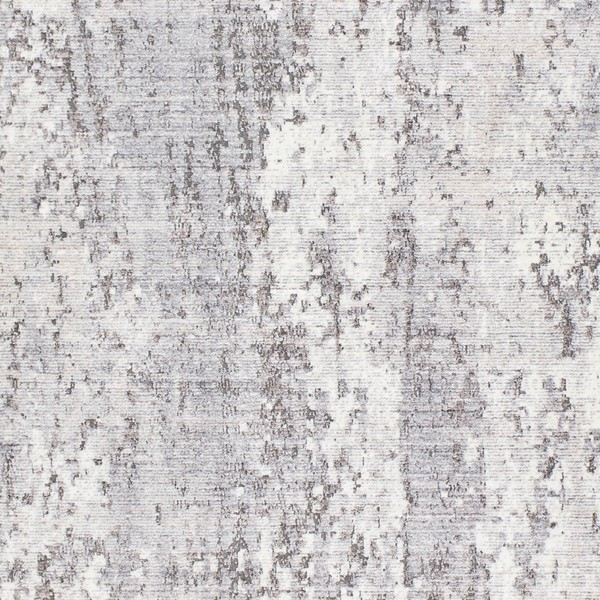 Surya Wonder Charcoal Camel White Viscose Polyester Sample Area Rug - 18x18 WAM2306-1616