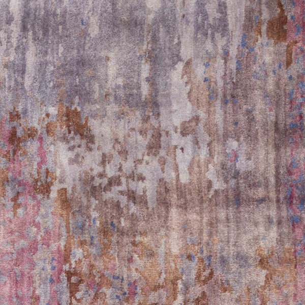 Surya Watercolor Dark Purple Gray Lilac Wool Sample Area Rugs WAT5003-RUG-VAR