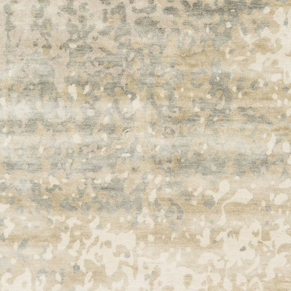 Surya Watercolor Ivory Light Gray Khaki Wool Sample Area Rugs WAT5014-RUG-VAR