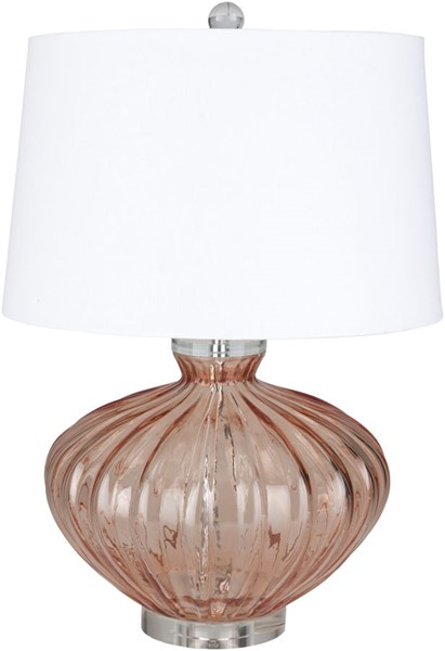 Surya Willoughby Coral White Glass Table Lamp - 16x23.50 WBY-001