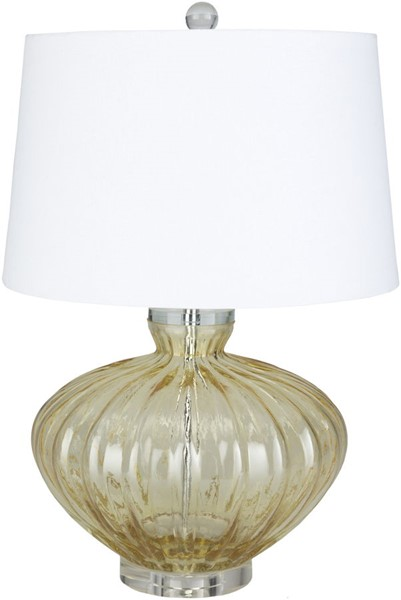 Surya Willoughby Bright Yellow Glass Table Lamp - 16x23.50 WBY-003