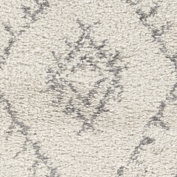 Surya Wilder Khaki Gray Polypropylene Sample Area Rug - 18x18 WDR2003-1616