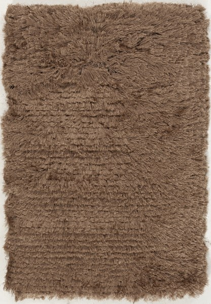 Whisper Contemporary Taupe Polyester Area Rugs 304-VAR1