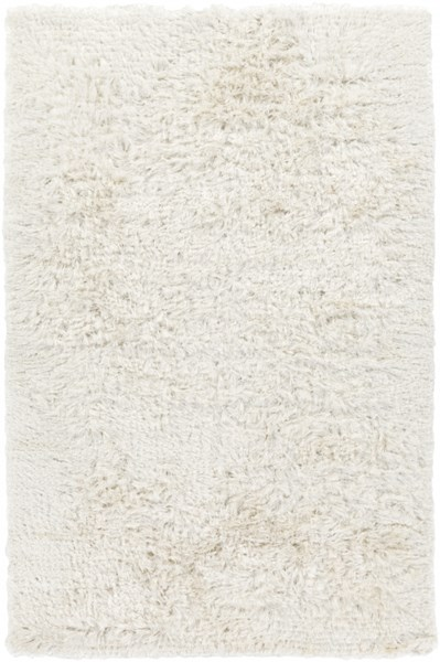 Surya Whisper Cream Polyester Area Rug - 108x72 WHI1005-69
