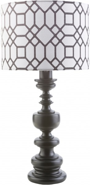 Wilson Contemporary Black Resin Polyester Table Lamps 14335-VAR1