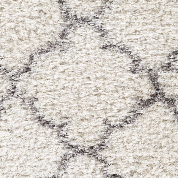 Surya Winfield White Black Polyester Sample Area Rug - 18x18 WNF1002-1616