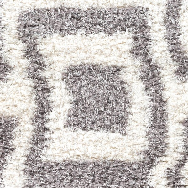 Surya Winfield White Gray Polyester Sample Area Rugs WNF1004-RUG-VAR