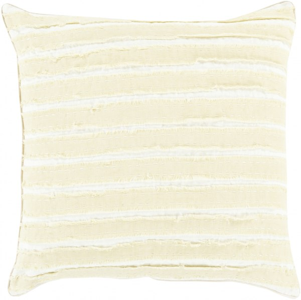 Willow Olive Ivory Down Linen Throw Pillow - 22x22x5 WO001-2222D