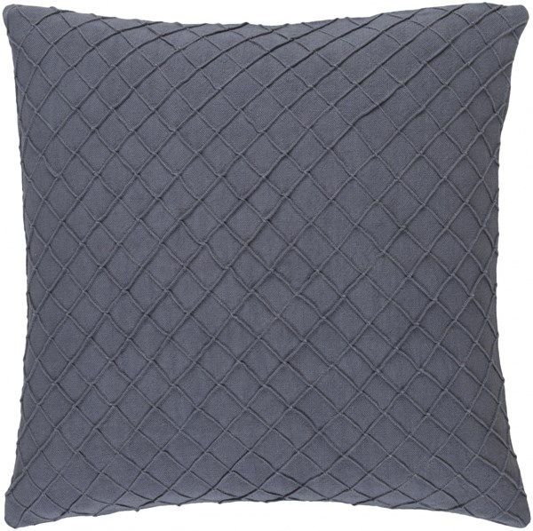 Wright Taupe Poly Linen Throw Pillow - 20x20x5 WR002-2020P