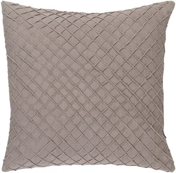 Wright Ivory Down Linen Throw Pillow - 22x22x5 WR003-2222D