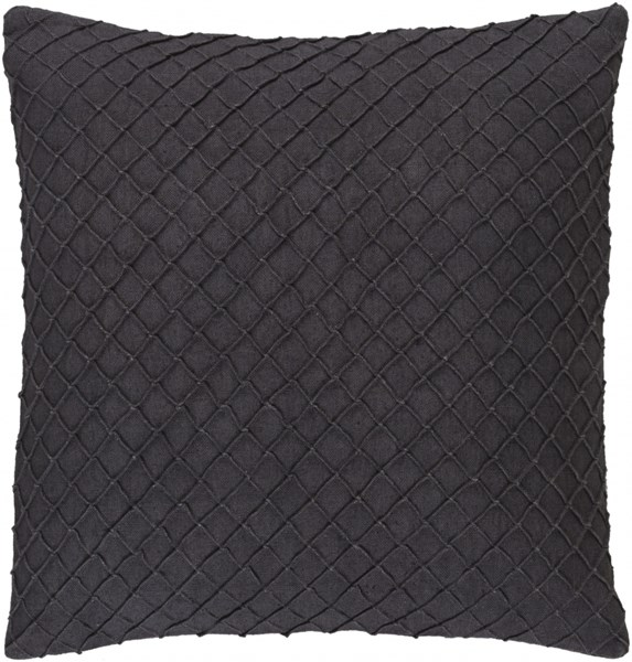 Wright Gray Poly Linen Throw Pillow - 18x18x4 WR005-1818P