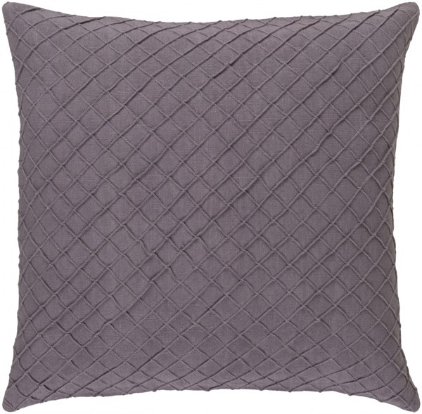 Wright Mauve Down Linen Throw Pillow - 20x20x5 WR006-2020D