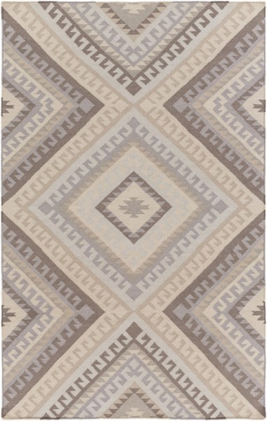 Wanderer Gray Taupe Wool Area Rug - 60 x 90 WRR2005-576