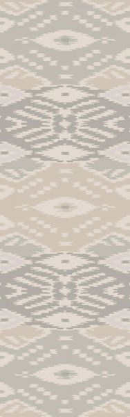 Wanderer Modern Light Gray Fabric Area Rugs WRR2009-268