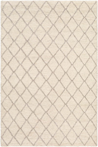 Surya Whistler Taupe Cream Viscose Wool Area Rug - 36x24 WSR2300-23
