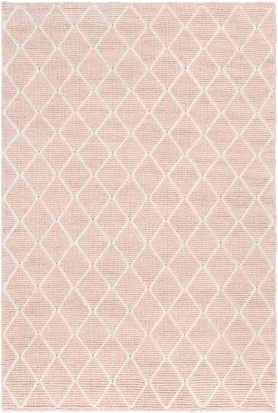 Surya Whistler Blush Cream Viscose Wool Area Rug - 156x108 WSR2302-913