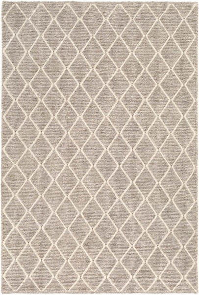 Surya Whistler Black Cream Viscose Wool Area Rug - 36x24 WSR2303-23