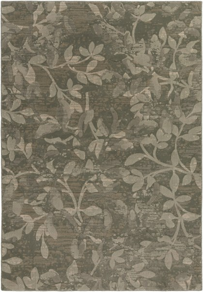 Winslow Contemporary Olive Beige Mint Polypropylene Area Rugs 14371-VAR1