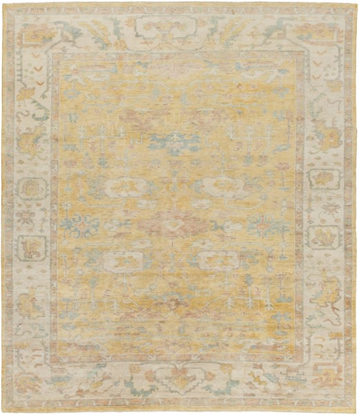 Westchester Gold Beige Moss Wool Area Rug - 96 x 120 WTC8004-810