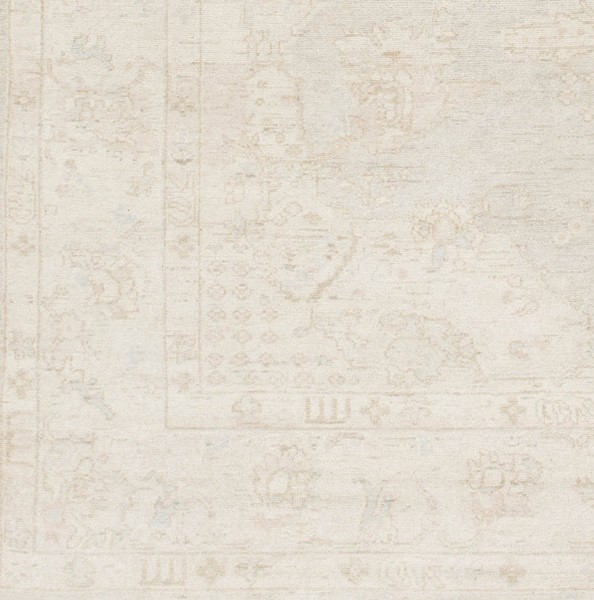 Surya Westchester Ivory Taupe Light Gray Wool Sample Area Rug - 18x18 WTC8005-1616