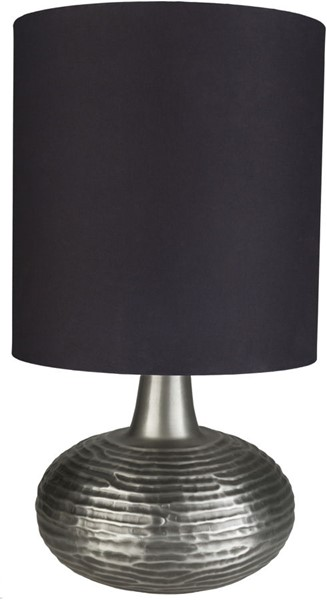 Surya Whitworth Black Metal Table Lamp - 17x31.50 WTW-003