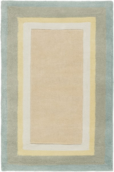 Young Life Beige Ivory Gold Light Gray Polyester Kids Rug - 24 x 36 YGL7001-23