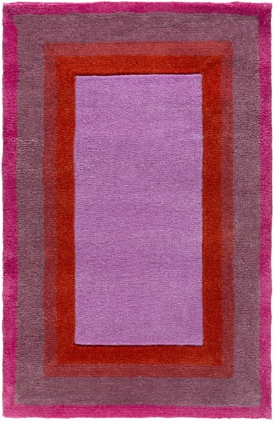 Young Life Orchid Eggplant Rust Magenta Polyester Kids Rug - 24 x 36 YGL7002-23