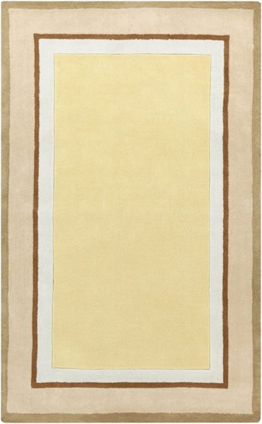 Young Life Gold Beige Ivory Olive Sea Foam Polyester Kids Rug - 60x96 YGL7003-58