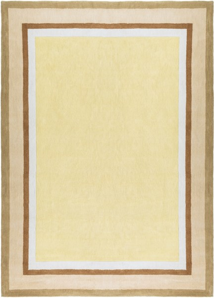 Young Life Gold Beige Ivory Olive Sea Foam Polyester Kids Rug - 96x132 YGL7003-811