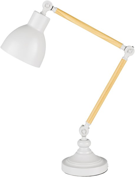 Surya Yale Ivory Metal Table Lamp - 10x24.50 YLE-003