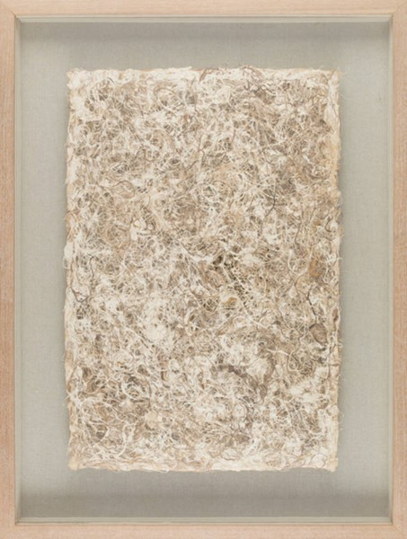 Surya Zev Natural Wood Paper Wall Art - 23x31 ZEV2000-2331