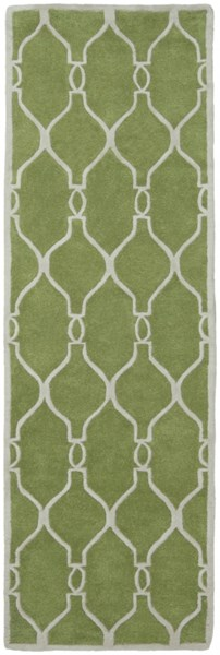 Zuna Forest Light Gray New Zealand Wool Runner ZUN1019-268