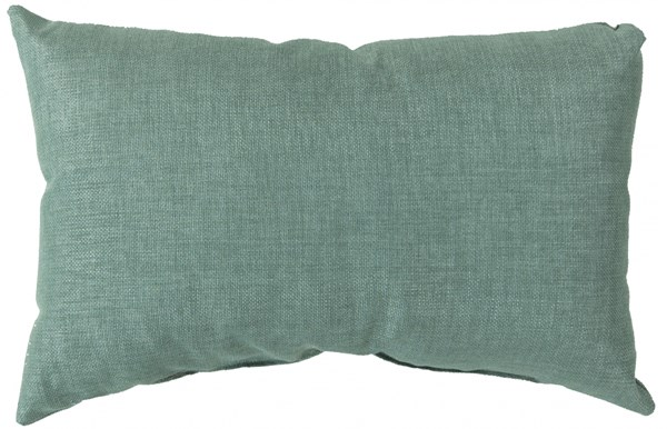 Storm Contemporary Teal Polyester Lumbar Pillows 13301-VAR1