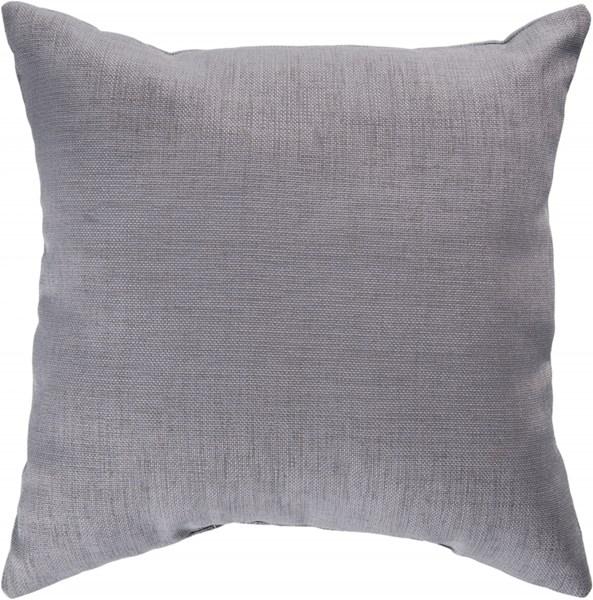 Storm Contemporary Gray Polyester Throw Pillow (L 18 X W 18 X H 4) ZZ406-1818