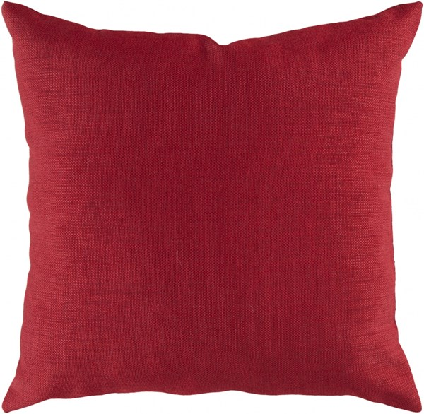 Storm Contemporary Rust Polyester Throw Pillow (L 22 X W 22 X H 5) ZZ407-2222