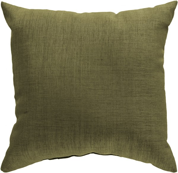 Storm Contemporary Sea Foam Polyester Throw Pillow (L 18 X W 18 X H 4) ZZ429-1818
